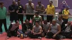 Seleção brasileira de vôlei sentado conta com paratletas do Alto Tietê