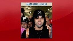 Gabigol chega a Milão para fechar contrato com Internazionale