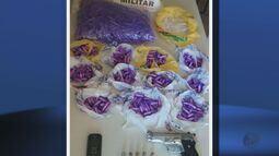 Polícia Militar apreende 275 pinos de cocaína em Pouso Alegre (MG)