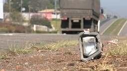 Motorista morre após atropelar cavalos e capotar em rodovia de Tatuí