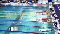 Katinka Hosszu vence os 400m livre feminino etapa da França da Copa do Mundo de natação