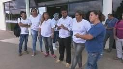 Funcionários da empresa Cometa paralisam atividades no Hospital Geral de Roraima