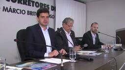 Rui Palmeira participa de debate com corretores de imóveis