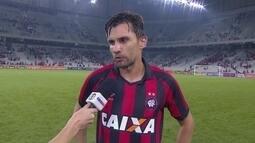"""Paulo André após a vitória contra o Botafogo: """"A gente vai brigar pelo G4 até o fim"""""""