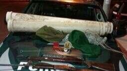 Policia Ambiental apreende armas de caça em reserva particular de Linhares, no ES