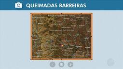 Queimada atinge a região oeste e fumaça já chega em Barreiras; veja na Previsão do Tempo