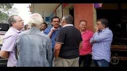 Renato Bravo faz campanha em Lumiar, distrito de Friburgo, RJ