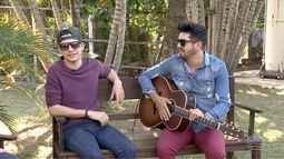 Denis e Renan no Roda de Viola