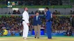 Zviad Gogotchiuri é ouro no judô categoria -90kg masculino