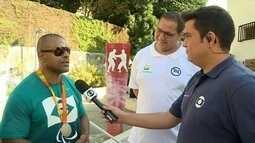 Após conquistar sexta medalha paralímpica, Antônio Tenório se reencontra com Rafael Silva