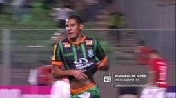Redação AM: Confira o gol do América-MG contra o Internacional com narração Gaúcha