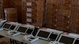 Carga oficial e validação de urnas é realizada em Araxá