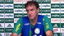 Cuca desconversa sobre Copa do Brasil e foca no Brasileirão