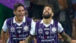 Gol do Toulouse! Durmaz aproveita falha incrível de Thiago Motta e aumenta aos 22 do 2º
