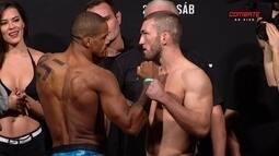 Alan Nuguette e Steven Ray passam pela pesagem do UFC: Brasília