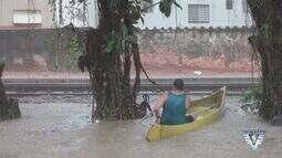 Moradores do Itararé vão ao Ministério Público devido a problemas frequentes com enchentes