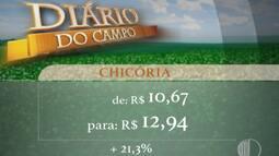 Cotação: preço das verduras sobem 2% na última semana