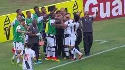 Os gols de Vasco 2 x 0 Atlético-GO pela 27ª rodada do Brasileirão série B