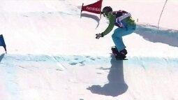 Isabel Clark vence etapa da Copa Sul-Americana de Snowboard
