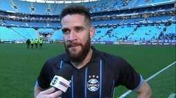 Marcelo Oliveira tem orgulho de seus 100 jogos e define atual momento do Grêmio