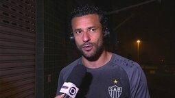 Para Fred, Atlético-MG tem plantel para disputar título da Copa do Brasil e do Brasileiro