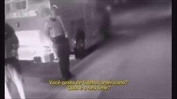 Vídeo mostra paixão de torcedor que o salvou de suicídio
