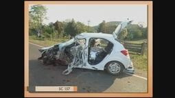 Giro de notícias: jovem morre em acidente na SC-157 em São Lourenço