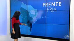 Previsão do tempo: frente fria chega ao estado da Bahia nas próximas horas