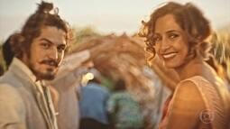 Miguel e Olívia se casam