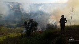 Incêndio atinge área de matagal em Marília
