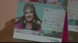 Calendário da rede feminina de combate ao câncer está sendo vendido na Paraíba