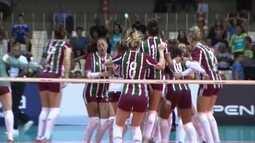 Fluminense vence Rio de Janeiro e conquista Campeonato Carioca de vôlei feminino
