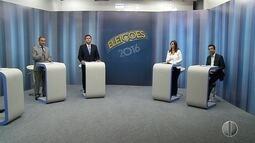 Candidatos à Prefeitura de Natal participam de debate da Inter TV