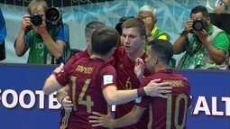 Rússia e Argentina fazem a final do Mundial de Futsal com tempero brasileiro