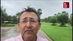 """Assinante da Flórida manda vídeo pelo aplicativo """"Na Rua GloboNews"""""""