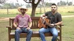 A dupla Douglas e Diego está no Fronteira do Brasil