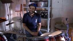 O baterista pessoense que já tocou em vários países - bloco 2