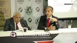 Vasco TV - Vasco sediou o 2º Relatório anual sobre racismo no futebol