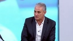 Tite fala sobre a convocação de jogadores de times que estão em boa posição no Brasileirão