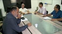 Reunião para debate do 2º turno na TV Mirante para prefeito de São Luís (MA)