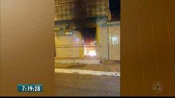 Agência bancária é explodida na cidade de Cruz do Espírito Santo