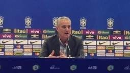 Tite explica que convocou Rodrigo Caio pela versatilidade