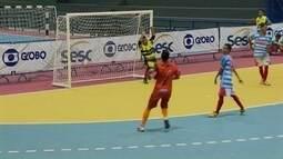 Primeiros times que avançam para as oitavas da Copa Brasília de Futsal são definidos