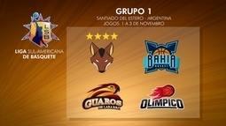 Grupo do Brasília na Liga Sul-Americana de Basquete é definido