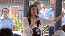 Rose Modesto visita Polo Empresarial Norte, em Campo Grande
