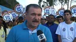 Cícero Almeida visita regiões do ABC e Rio Novo
