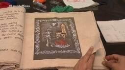 Bordadeiras fazem trabalhos inspiradas em obras raras