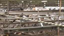 Placas publicitárias e quiosques irregulares são demolidas pela prefeitura de Palmas