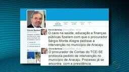 Presidente do TCE corrige informação sobre intervenção em Aracaju