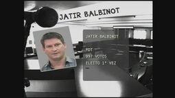 Jatir Balbinot, eleito pelo PDT de Chapecó, fala ao Jornal do Almoço